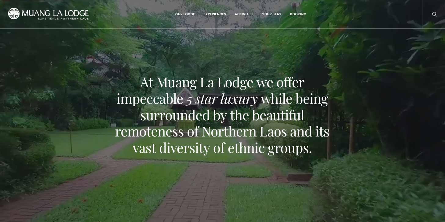 Muang La Lodge | Luxury hotel | Experience Northern Laos